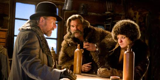 The Hateful Eight - Tim Roth, Kurt Russell, Jennifer Jason Leigh