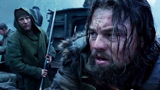 The Revenant - Tom Hardy, Leonardo DiCaprio