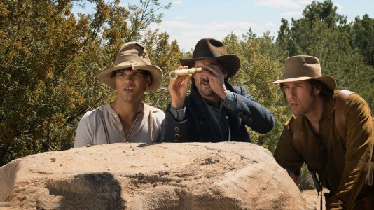 The Ridiculous 6 - Taylor Lautner, Luke Wilson, Adam Sandler