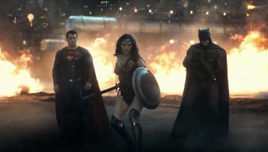 Batman v Superman - Henry Cavill, Gal Gadot, Ben Affleck