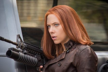 Captain America The Winter Soldier - Scarlett Johansson