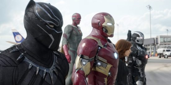 Captain America: Civil War - Chadwick Boseman, Paul Bettany, Robert Downey, Jr., Scarlett Johansson, Don Cheadle