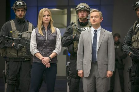 Captain America: Civil War - Emily Van Camp, Martin Freeman