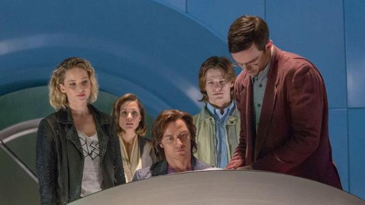 X-Men: Apocalypse - Jennifer Lawrence, Rose Byrne, James McAvoy, Lucas Till, Nicholas Hoult