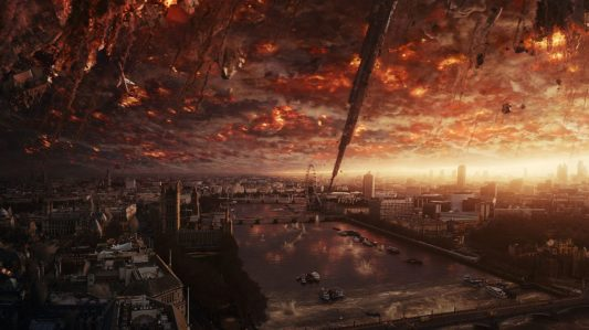 Independence Day Resurgence - London destruction