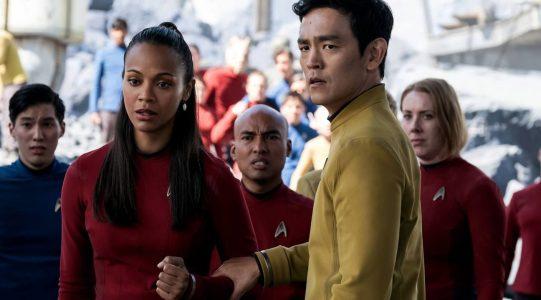 Star Trek Beyond - Zoe Saldana, John Cho