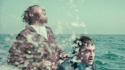 Swiss Army Man - Paul Dano, Daniel Radcliffe (jetski)