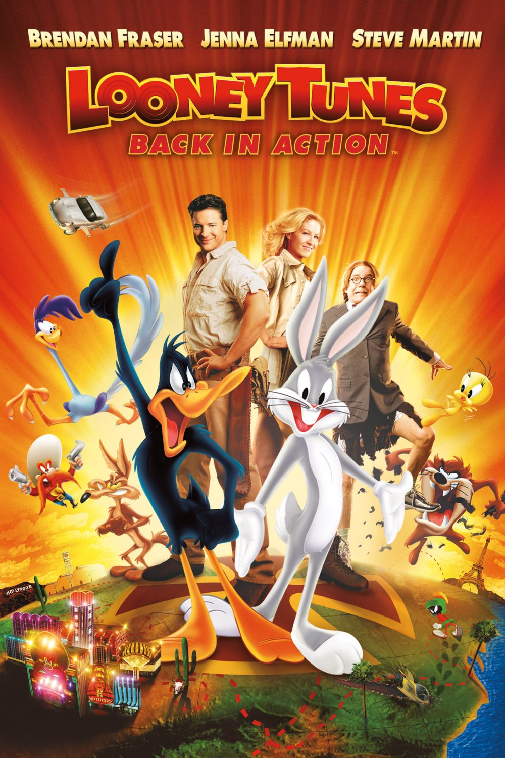review looney tunes back in action the viewer s commentary