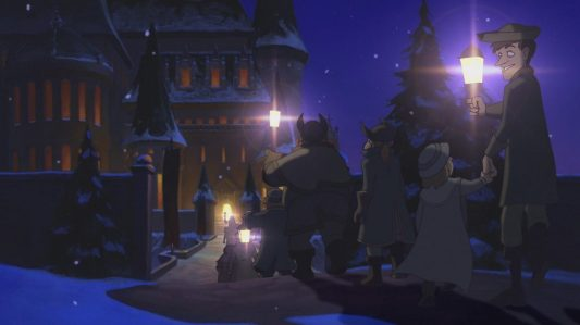 Beauty and the Beast The Enchanted Christmas - Carolers