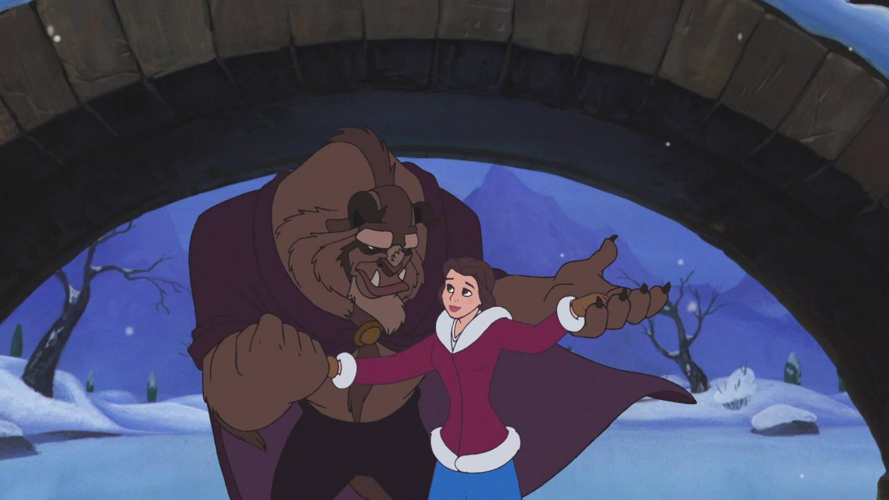 review � beauty and the beast the enchanted christmas