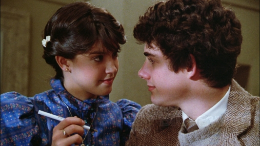 Gremlins - Phoebe Cates, Zach Galligan