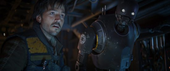 Rogue One: A Star Wars Story - Diego Luna, Alan Tudyk