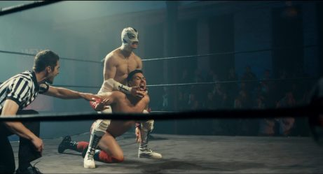 The Masked Saint - wrestling match