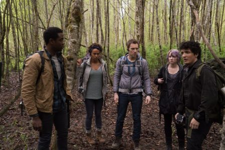 Blair Witch - Brandon Scott, Corbin Reid, James Allen McCune, Valorie Curry, Wes Robinson