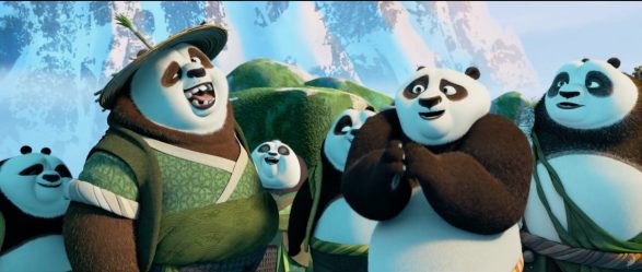 Kung Fu Panda 3 - Po and other pandas