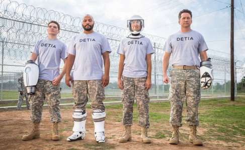 Lazer Team - Michael Jones, Colton Dunn, Gavin Free, Burnie Burns