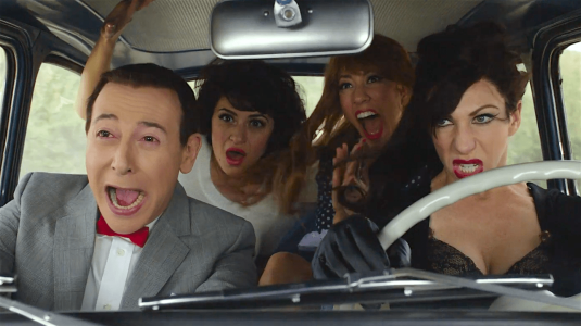 Pee-wee's Big Holiday - Paul Reubens, Alia Shawkat, Stephanie Beatriz, Jessica Pohly