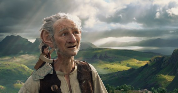 The BFG - Mark Rylance, Ruby Barnhill