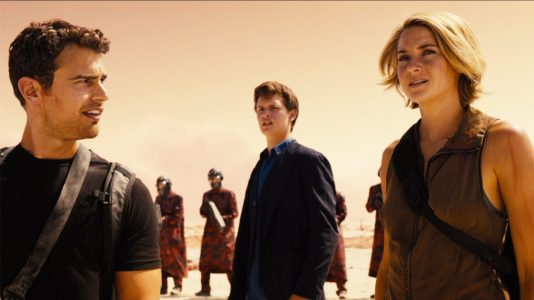 The Divergent Series: Allegiant - Theo James, Ansel Elgort, Shailene Woodley