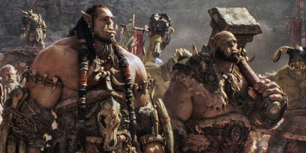 Warcraft - Durotan (Toby Kebbell), Orgrim (Robert Kazinsky)