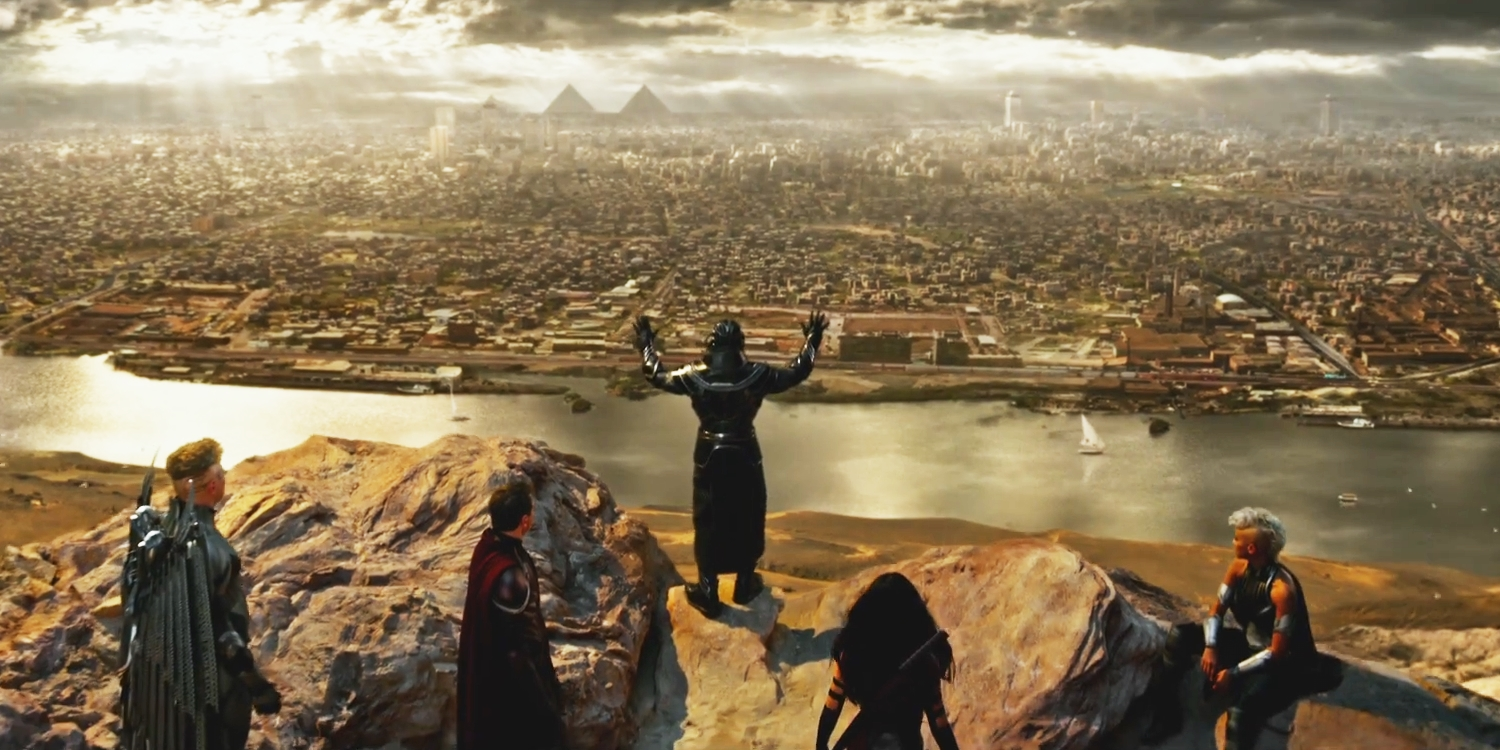 X-Men: Apocalypse - Egypt