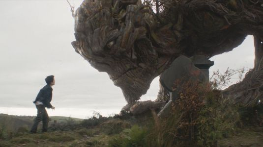 A Monster Calls - Lewis MacDougall, Liam Neeson