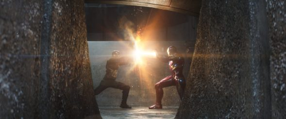 Captain America: Civil War - Chris Evans, Robert Downey, Jr.