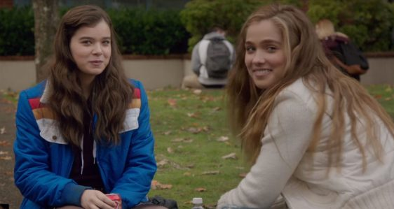 The Edge of Seventeen - Hailee Steinfeld, Haley Lu Richardson