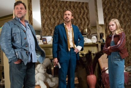 The Nice Guys - Russell Crowe, Ryan Gosling, Angourie Rice